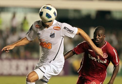 Santos 1 x 1 Inter - Brasileirão 2011/ Vipcomm