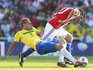 Brasil x Paraguai/ AP
